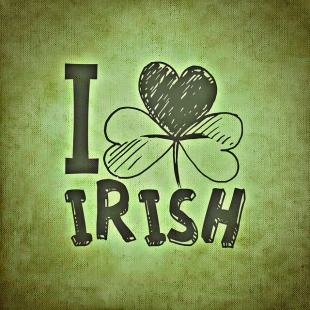 """I love irish"""